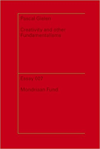 Book Cover: Creativity and Other Fundamentalisms