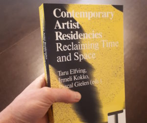 Kyoto Art Center: Book Launch Contemporary Artist Residencies – February 7