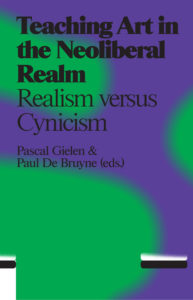 Book Cover: Teaching Art in the Neoliberal Realm