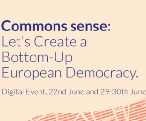 Commons Sense: Let's Create a Bottom-Up European Democracy