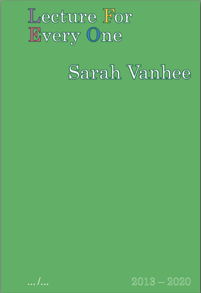Book Cover: Lecture For Every One
